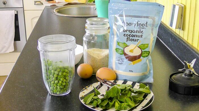 pea and mint gluten free protein wrap ingredients