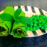 pea and mint gluten free wrap recipe