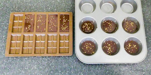 chocolate in moulds dairy free