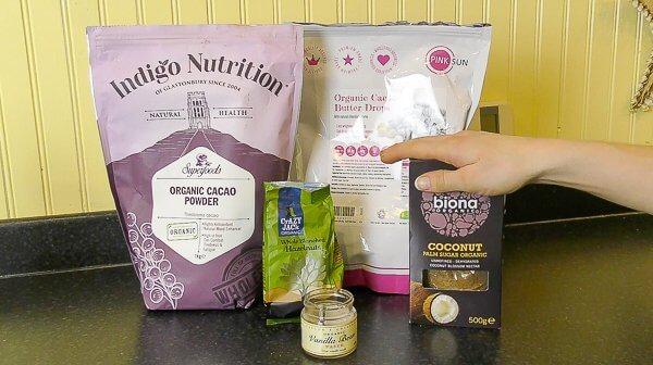 dairy free hazelnut chocolate ingredients