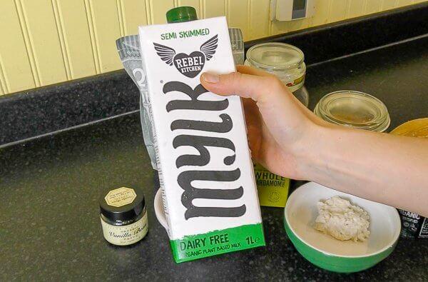 dairy free rebel kitchen milk quinoa porridge