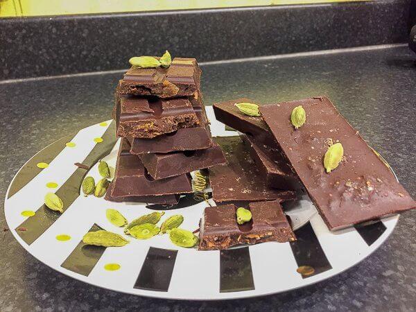 dairy free cardamom and fig chocolate recipe