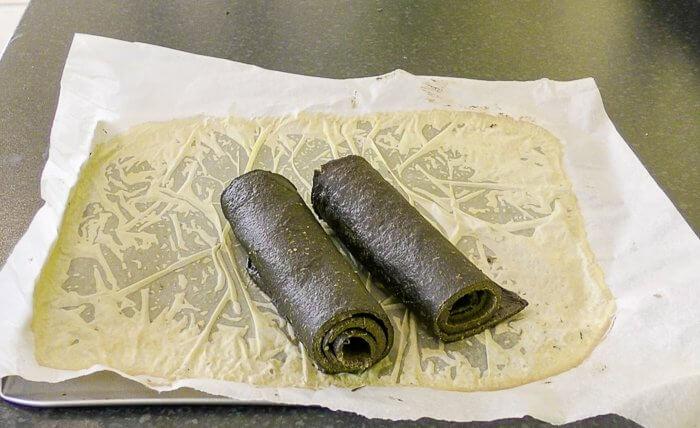 Gluten free all mushroom wraps