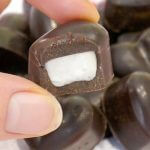 peppermint cream filled chocolates dairy free