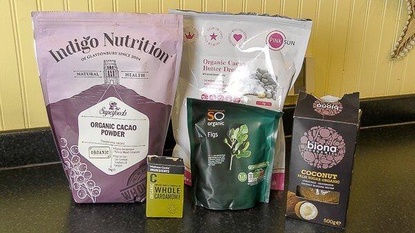 dairy free chocolate ingredients