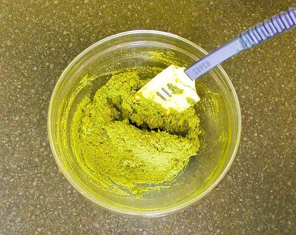gluten free veg dough balls mixture