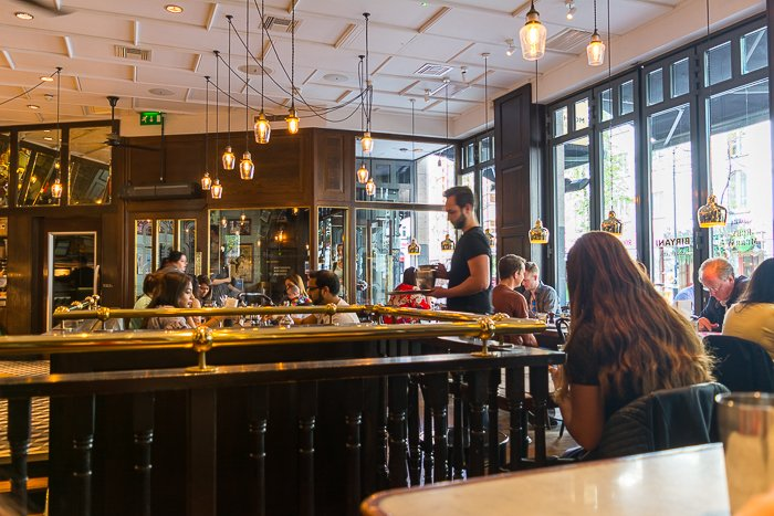 review Dishoom Cafe Covent Garden