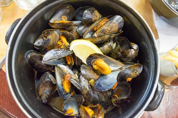 mussels cafe rouge gluten free review