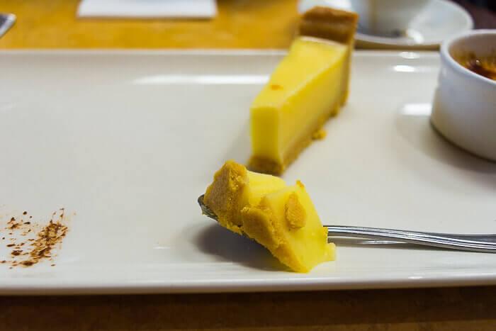 lemon tart gluten free review cafe rouge