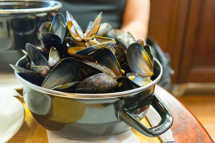 gluten free mussels review cafe rouge