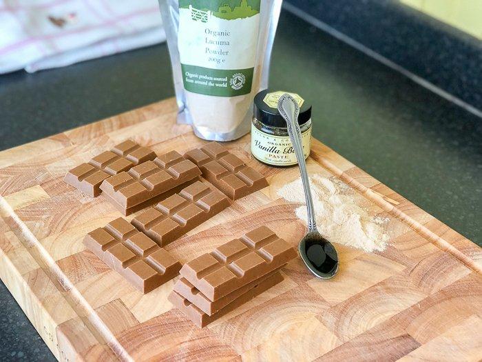raw chocolate recipe dairy free