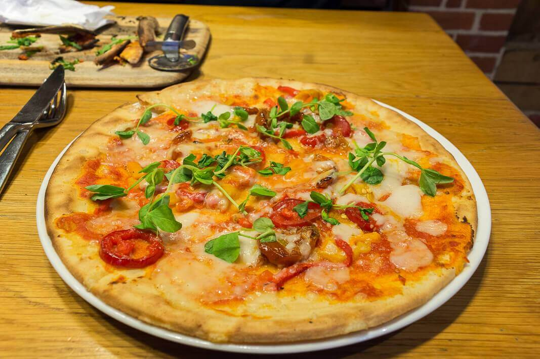 Zizzi Gluten Free Vegan Pizza Review The Health Geeks Diary