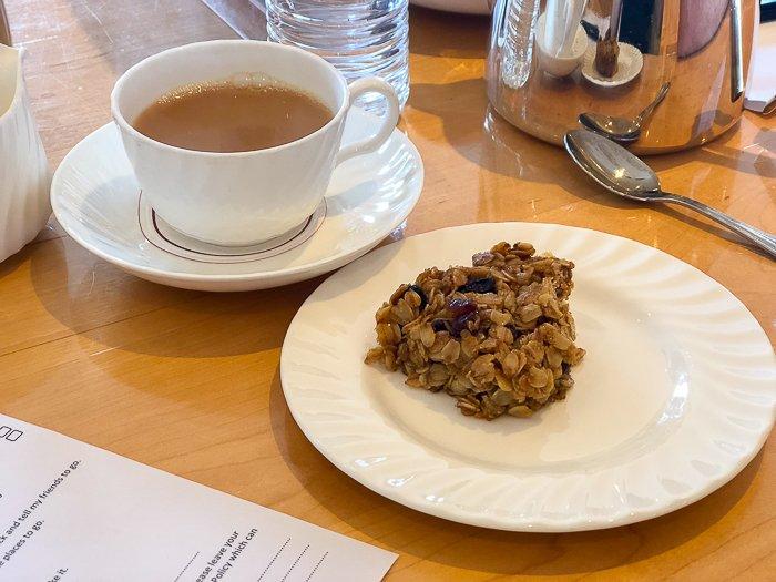 Bettys Harrogate Gluten Free oat granola bake