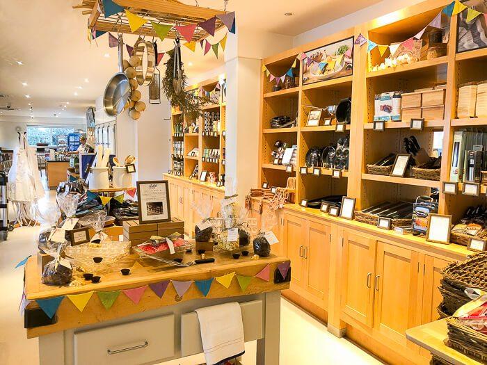 Bettys cookery school inside Harrogate