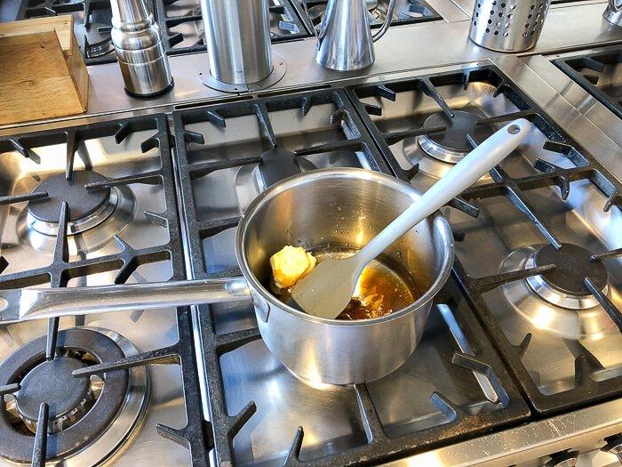 making caramel Bettys cookery school review Harrogate