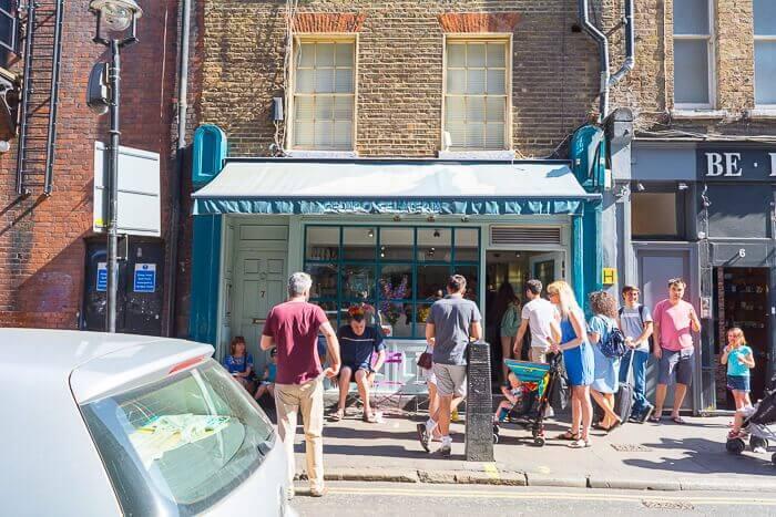 Gelupo London vegan ice cream parlour review