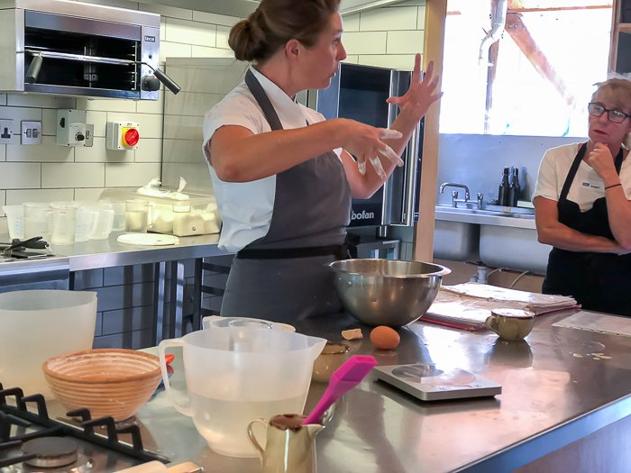 Naomi River Cottage gluten free cookery school