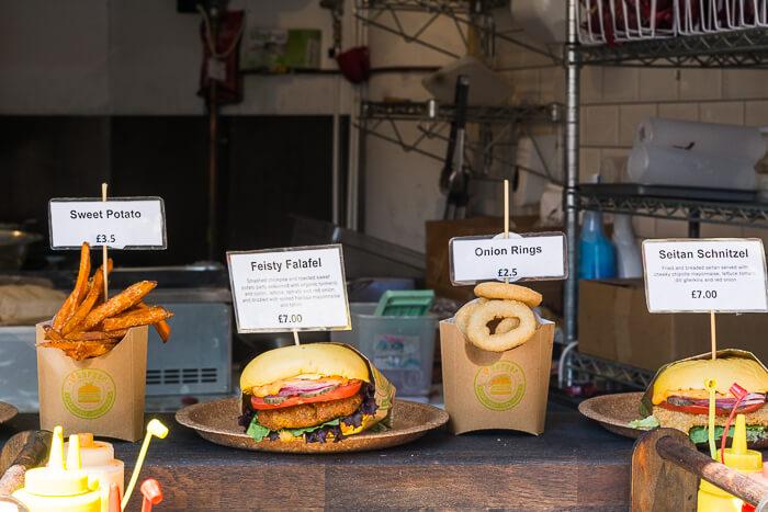 vegan burgers Camden market VBurger review