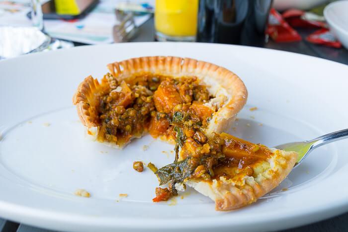 vegan gluten free pie young vegans Camden review