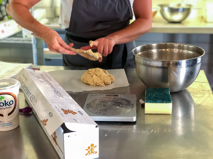 gluten free digestives River Cottage course