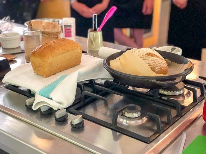 sourdough breads River Cottage class