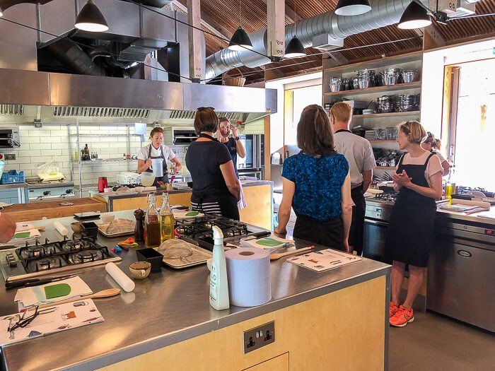 river cottage gluten free course cookery classroom
