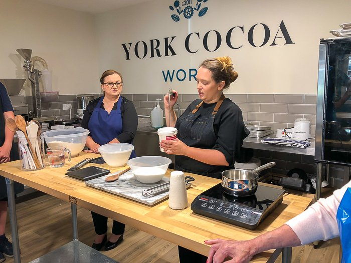 York cocoa house works confectionary workshop