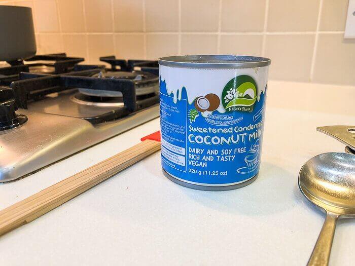 coconut condensed milk dairy free desserts course