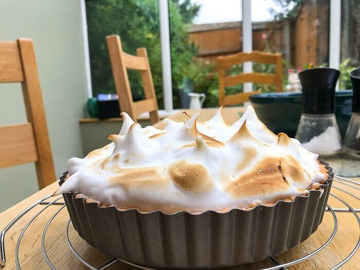 vegan dairy free desserts course lemon meringue pie