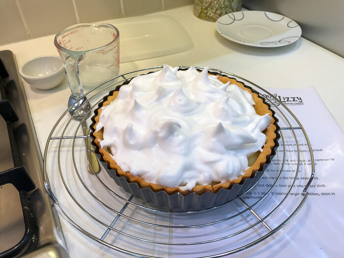 Dairy Free Lemon Meringue Pie desserts course