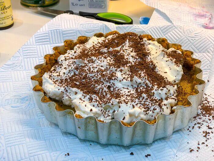 gluten free vegan banoffee pie dairy free desserts course
