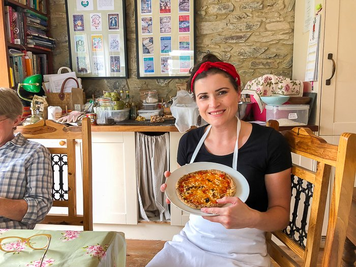 Mair's Vegan Pizza gluten free artisan bread course