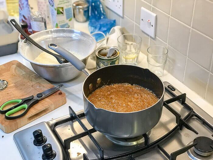 making caramel sauce dairy free desserts course