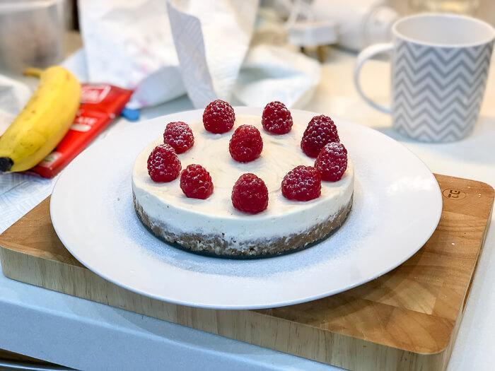 Gluten Free Vegan Cheesecake dairy free desserts course